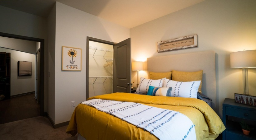 Spacious Bedrooms with Walk-in Closets