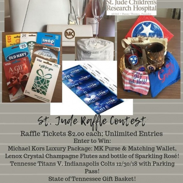 Our St. Jude Fundraiser starts NOW!  Join us in helping raise money to help the children of St. Jude!  We have some fantastic ticket items to be won - prospects and residents may enter to win!  Buy as many tickets as you'd like for only $2.00 each! . . . . Check this out: $3 - Provides Pediatric Isolation Masks:  protecting patients with compromised immune systems. $4 - Provides Snack Bags for patients and their siblings. $7 - Provides a Blank Medical Teaching Doll - helps patients understand medical treatment procedures. $22 - Provides Rehabilitation Weights to improve a patients' quality of life. $30 - Provides a St. Jude Family with meals for one day in the St. Jude cafeteria - Kay Kafe. $57 - Provides necessities for parents who may have hurriedly left home after child's diagnosis. $100 - Provides a Platelet Count Test for TWO PATIENTS! $250 - Provides one Red Blood Transfusion for a patient. . . . . A little bit goes a long way but, the more we raise, the more lives we can help save and help make easier!